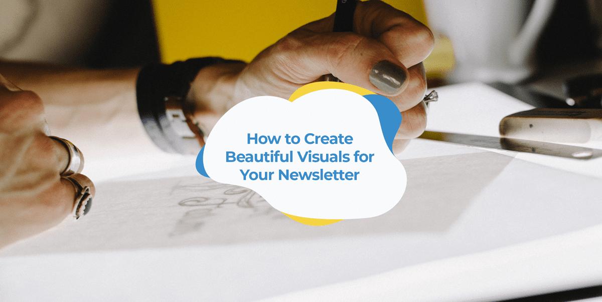create visuals ecommerce newsletter