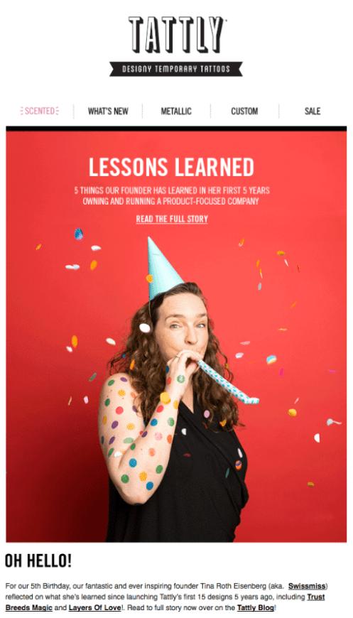 lessons learned newsletter