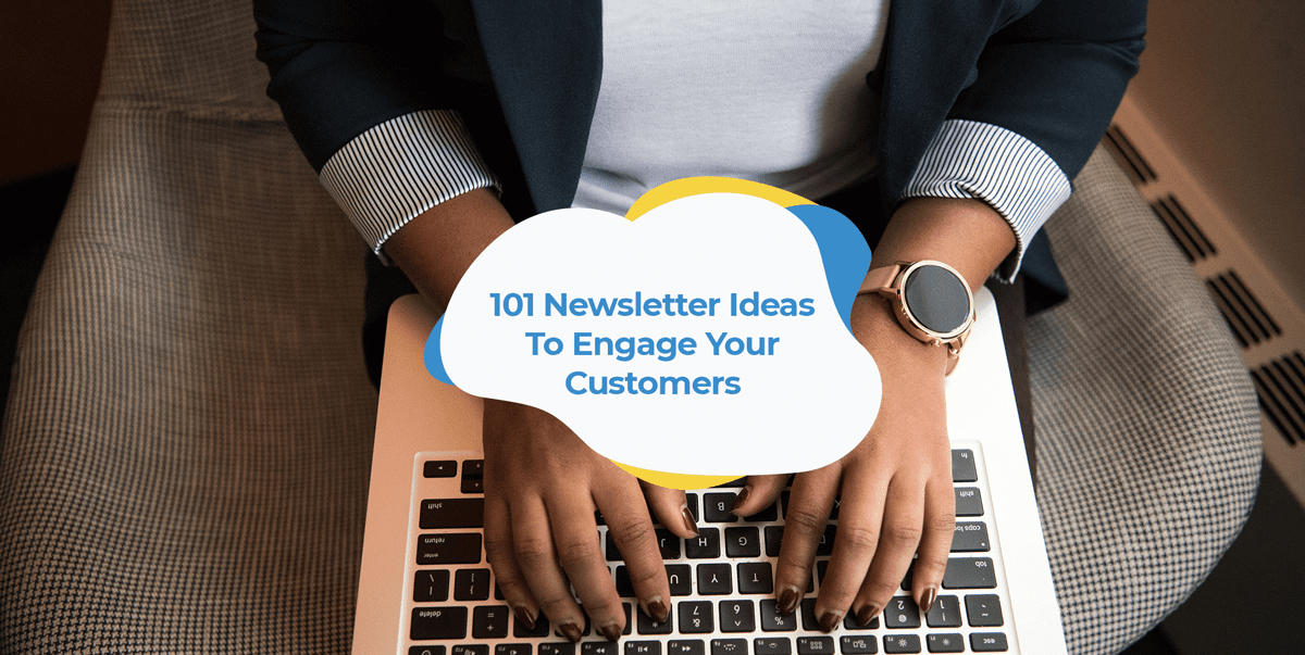 newsletter ideas post header image
