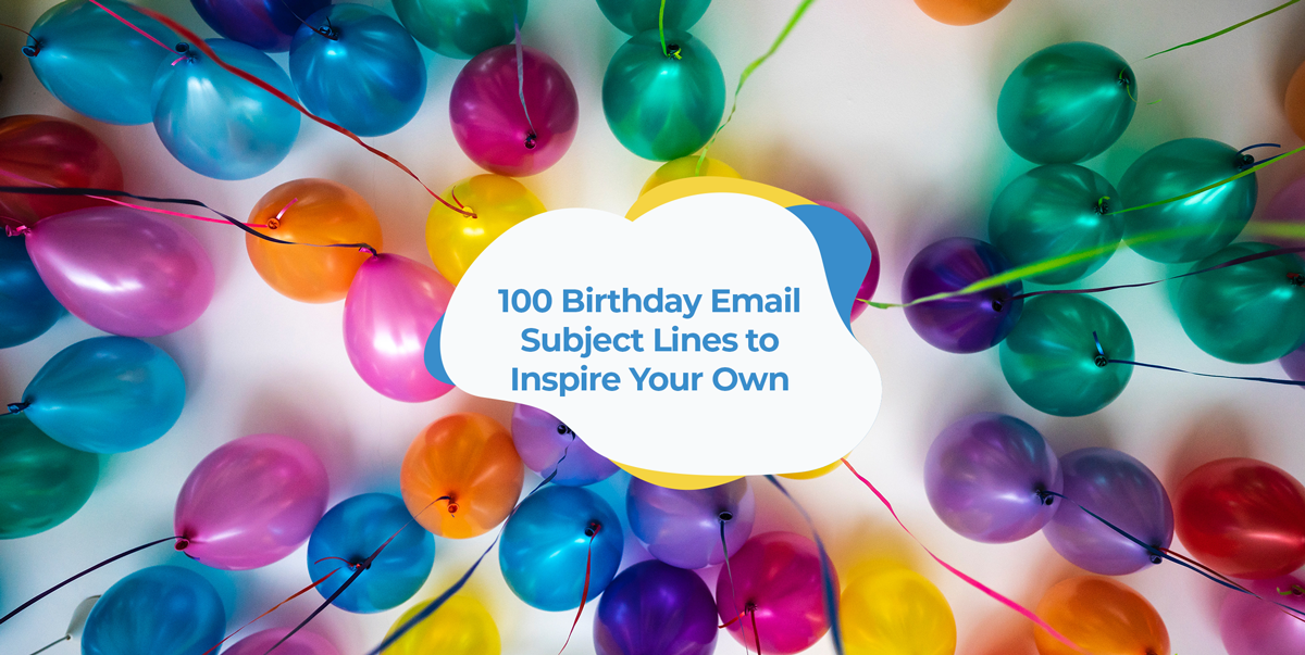 birthday email subject lines header image