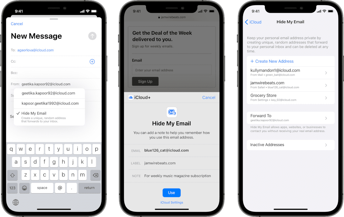 ios 15 email privacy changes