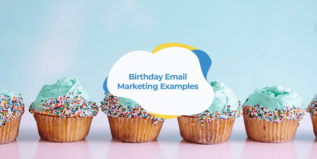 birthday email marketing examples header image