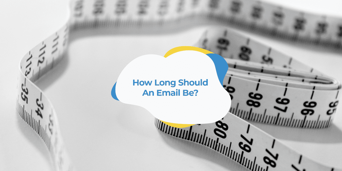 how long should an email be header image