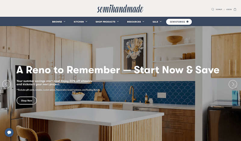 semihandmade shopify hardware theme
