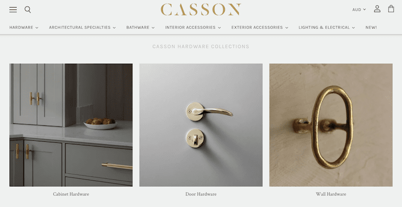 casson hardware store