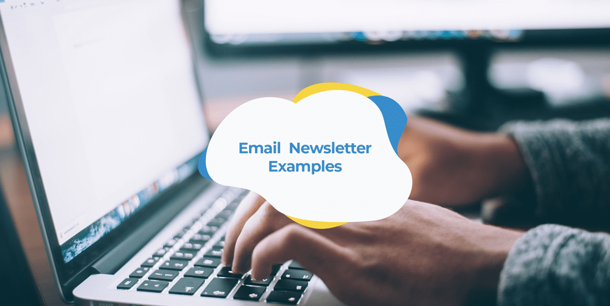 email newsletter examples header image