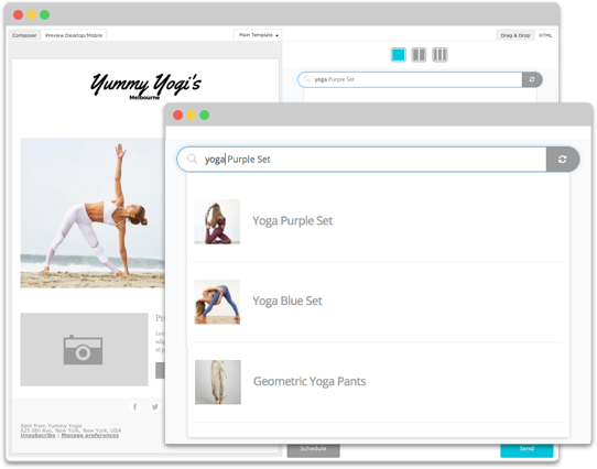 Example of an Email for WooCommerce
