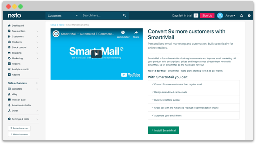 SmartrMail on Shopify App Store